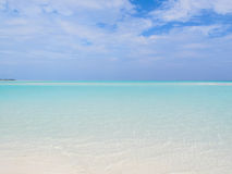 Ocean i perfect niebo Fotografia Royalty Free