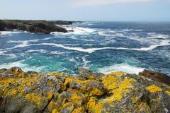 Ocean i skały Zdjęcie Stock