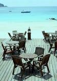 ocean idylliczny siedzenia Zdjęcia Stock