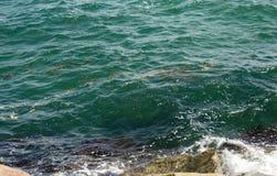 Ocean Indyjski od Południowej gramocząsteczki przy Fremantle zachodnią australią Zdjęcia Royalty Free