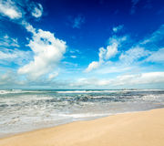 ocean indyjski panorama Zdjęcia Stock