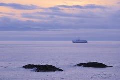 Ocean and island Stock Photos