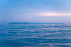 Ocean and island Stock Photography
