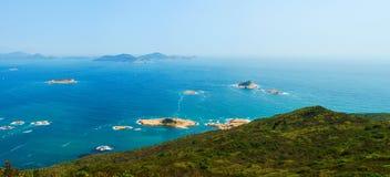 Ocean islands panorama Stock Image