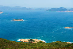 Ocean islands Royalty Free Stock Photography