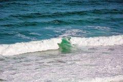 Ocean kipiel I fale zdjęcie stock