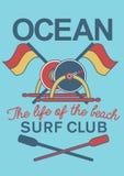 Ocean kipieli klubu wyposażenie Zdjęcia Royalty Free
