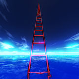 Ocean Ladder Stock Photography