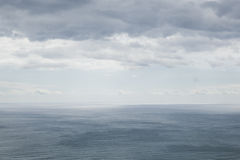Ocean landscape with cloudy sky Royalty Free Stock Photography