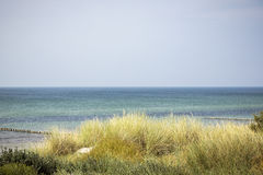 Ocean landscape with dune Royalty Free Stock Photo