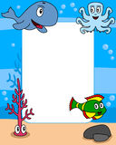 Ocean Life Photo Frame [2] Royalty Free Stock Image