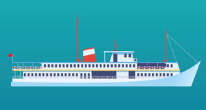 Ocean liner Stock Image