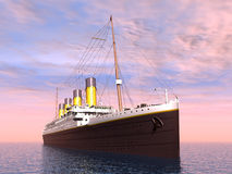 Ocean Liner Royalty Free Stock Image