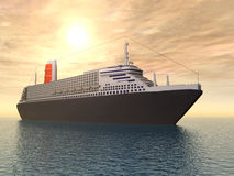 Ocean Liner Stock Photography