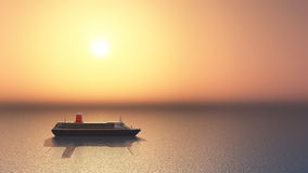 Ocean Liner Royalty Free Stock Photos