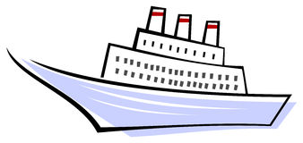 Ocean liner - ship Stock Photos