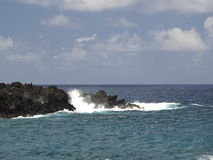 Ocean linia brzegowa Zdjęcie Stock