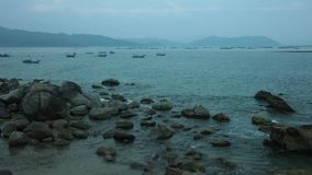 Ocean linia horyzontu Vietnan zdjęcie wideo
