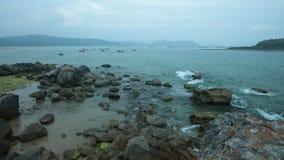 Ocean linia horyzontu Vietnan zbiory
