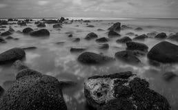 Ocean long exoosure Stock Photography