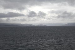 Ocean between mallaig and skye Stock Photo