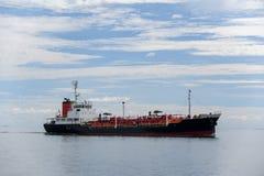 Ocean Mariner tanker. The Ocean Mariner tanker on the sea royalty free stock photo