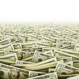 Ocean of money Royalty Free Stock Photography