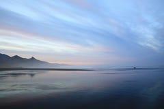 Ocean Morning. Pacific Ocean seascape at dawn Stock Photos