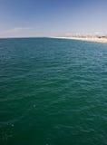 ocean na plaży Obrazy Royalty Free