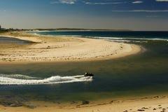 ocean na plaży Zdjęcie Royalty Free
