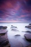 ocean nad wschód słońca Zdjęcie Stock