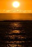 ocean nad zmierzchem obrazy royalty free