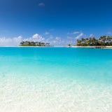 Ocean near Maldives Royalty Free Stock Photo