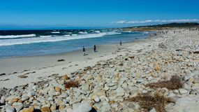 Free Ocean Near Pebble Beach, Pebble Beach, Monterey Peninsula, Calif Royalty Free Stock Image - 111257356