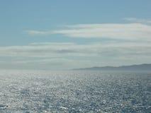 Ocean, niebo, naczynie, morski życie, żeglarz, morze Obrazy Stock