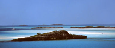 Ocean Oasis. Out Islands in the Bahamas Royalty Free Stock Photography