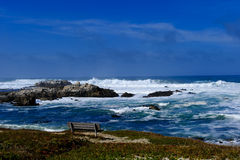 Ocean at Pacific Grove Stock Images