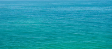 Ocean. Pacific Ocean in sunny day Royalty Free Stock Photo