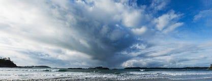 Ocean panorama Royalty Free Stock Image