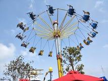 Ocean park giant swing. Go extream at Ocean park in Hongkong Royalty Free Stock Image