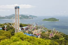 Ocean Park Hong Kong Stock Photos