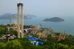 Ocean Park Hong Kong Stock Image