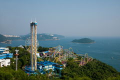 Ocean Park Ocean Park Tower overlooking the ocean on earth Recreation Area Stock Photography