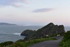 ocean path Stock Photo