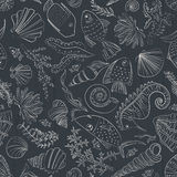 Ocean Pattern Royalty Free Stock Photography