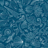 Ocean Pattern stock illustration