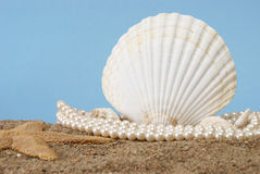 Ocean Pearls Stock Photo