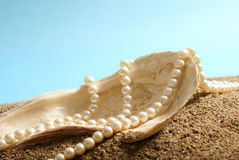 Ocean Pearls Royalty Free Stock Photo
