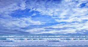 Ocean and perfect sky Stock Photos