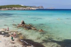 Ocean photo shot on Ibiza Royalty Free Stock Image